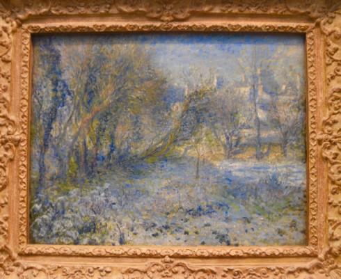 Renoir - Snow Covered Landscape