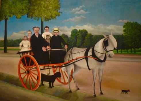 Rousseau - Junier's Cart - The Orangerie