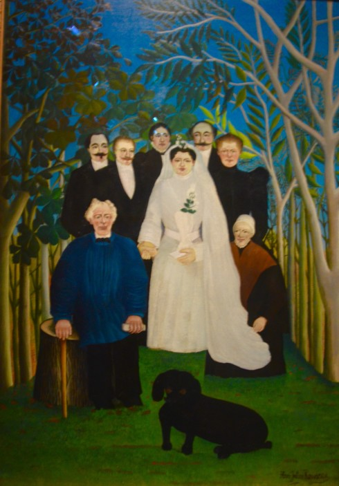 Rousseau - The Wedding - The Orangerie