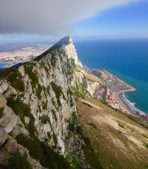Spine of the Rock of Gibraltar