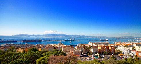 City of Gibraltar - view of the harbour