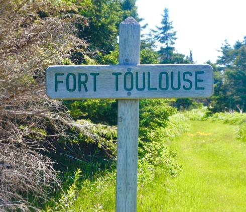 Sign for Fort Toulouse