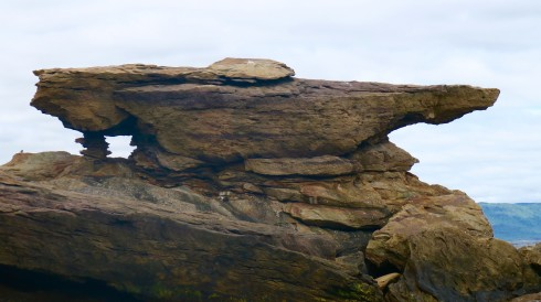 Hole in the Rock on Bird Islands Nova Scotia