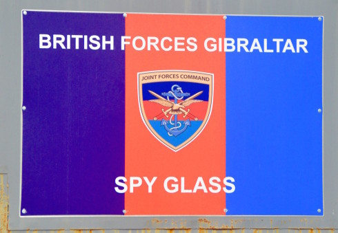Spy Glass on the Rock of Gibraltar