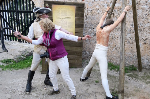 A Flogging on the Rock of Gibraltar