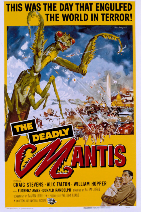 Poster for The Deadly Mantis