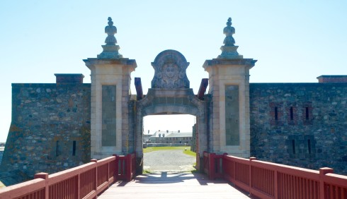 Entrance to Fortress Louisbourg