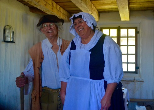 Fisherman & His Wife at Fortress Louisbourg