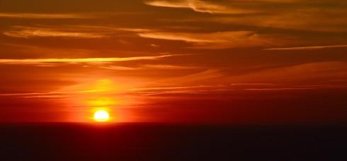 Setting Sun on the Skyline Trail