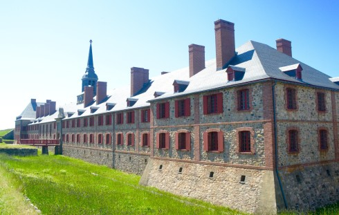 Governor's Palace & Barracks at Fortress Louisbourg