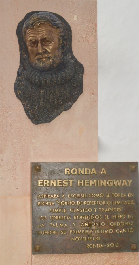 Hemingway at Ronda