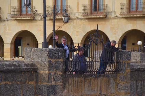 Hola from the Puente Nuevo, Ronda