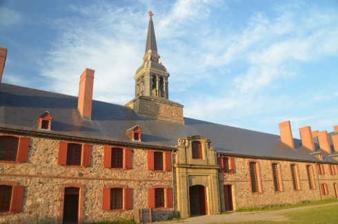 Fortress Louisbourg - the Governor's Palace