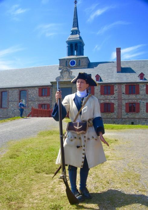 Fortress Louisbourg Muskateer