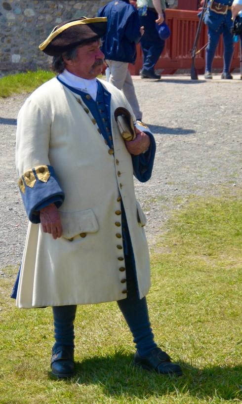Louisbourg Officer