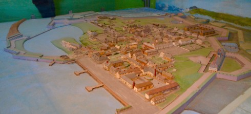Model of Fortress Louisbourg