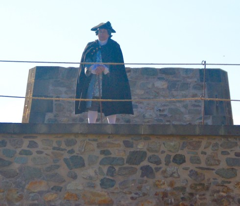 The Governor Looks On at Fortress Louisbourg