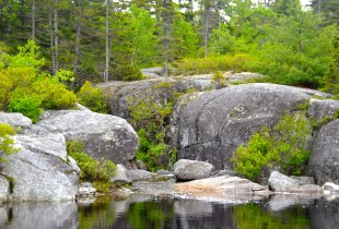 Birch Cove Lakes waterfall
