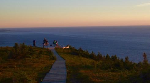 Skyline Trail Sunset Watchers