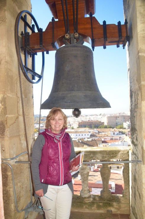 In the Mezquita Bell Tower