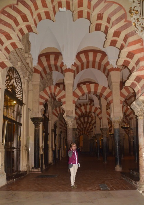 In the Mezquita