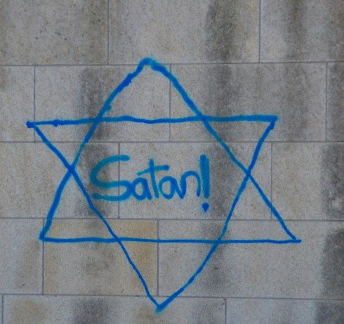 Anti-Semitic grafitti, Cordoba