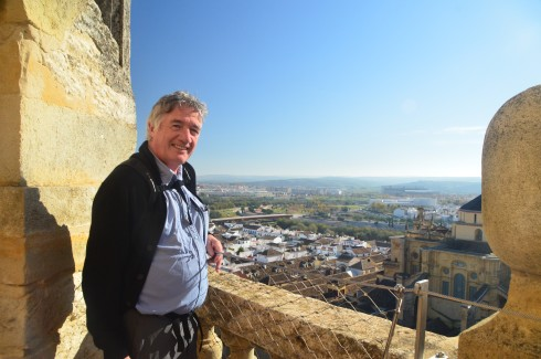 On top of the Mezquita bell tower