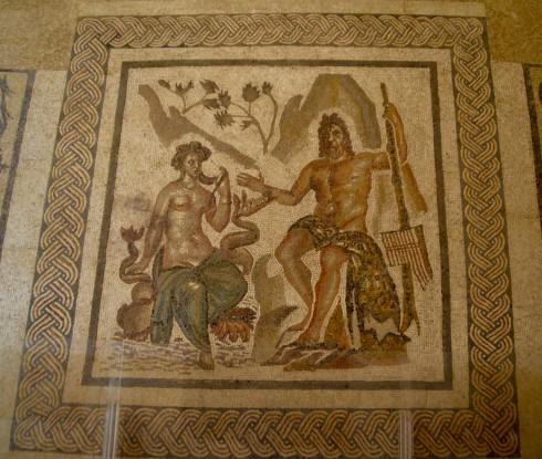 Cordoba Mosaic of Galatea & Polyphemus