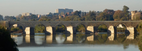 Roman bridge over the Guayaquil at Cordoba