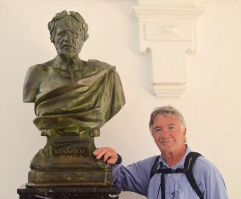 Seneca in Alcazar, Cordoba