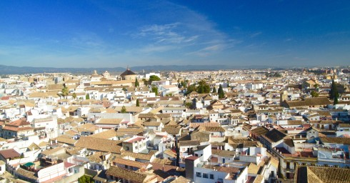 View of Cordoba from the Bell Tower
