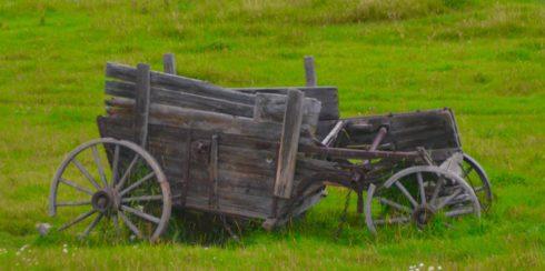 Abandoned Wagon