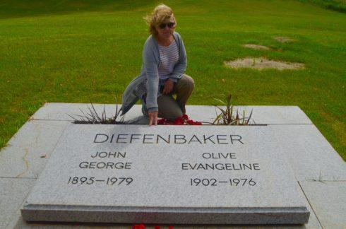 John Diefenbaker Grave