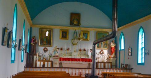 Church Interior - Batoche