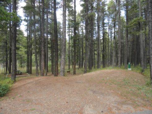 Campsite 20, War Lodge Campground, Cypress Hills