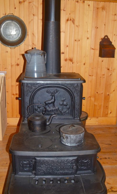 Commissioner's Stove, Fort Walsh