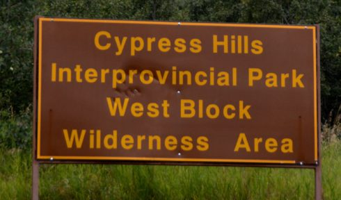Cypress Hills Welcome Sign