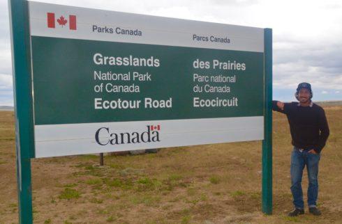 Entrance to Grasslands National Park