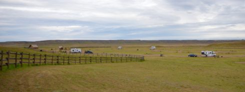 Frenchman Valley Campground, Grasslands National Park