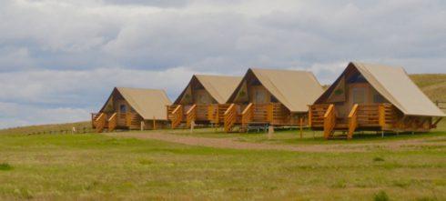 Otentniks in Grasslands National Park.