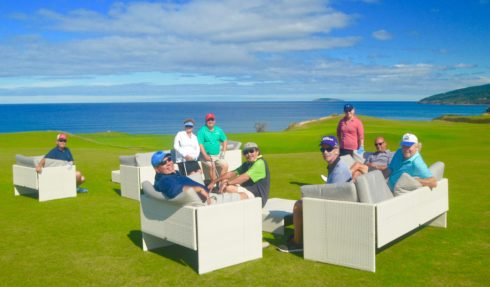 Lounge at Cabot Cliffs
