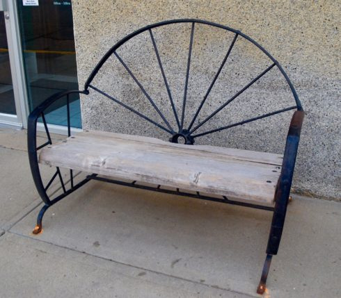 Maple Creek Park Bench