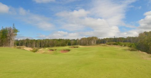 No. 7 fairway, Cabot Cliffs