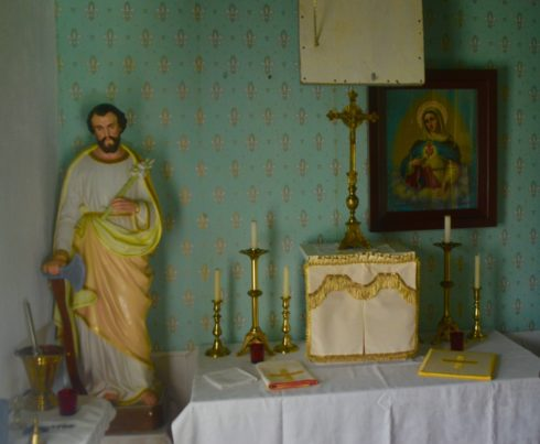 Priest's Personal Altar