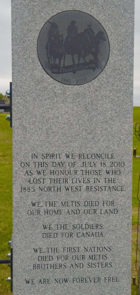 Batoche Reconciliation Monument