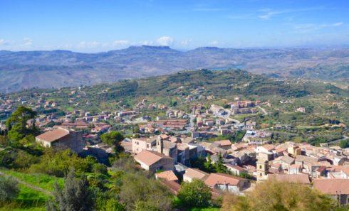 View of Assoro
