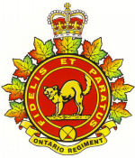 Ontario Tank Regiment Cap Badge