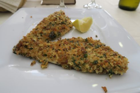 Crusted Sea Bass