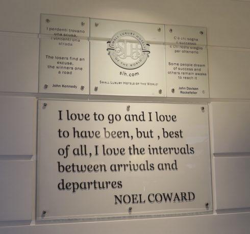 Noel Coward's Favourite Hotel