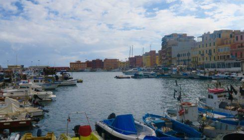 Harbour at Anzio